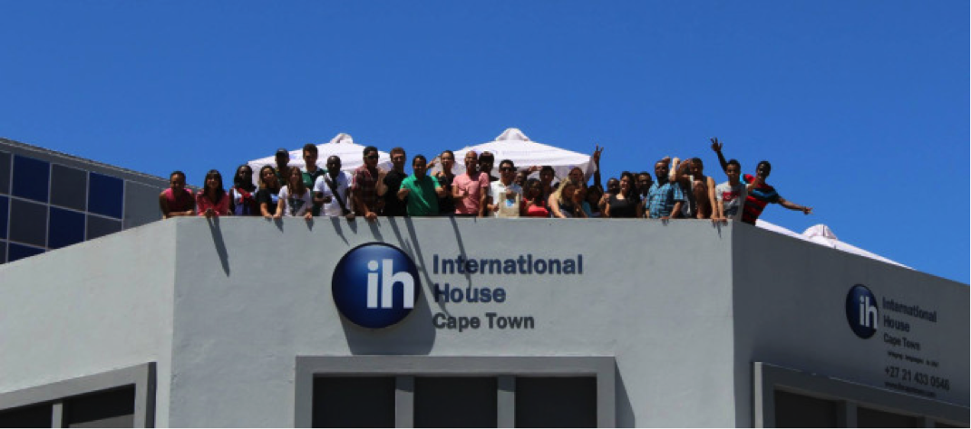 My first day at International House Cape Town